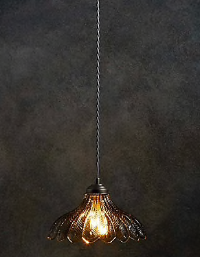 Roomy Home Marks and Spencer M&S Home Blair flower pendant