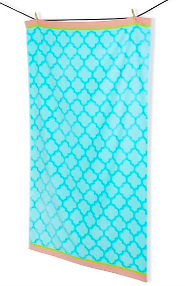 Roomy Home Marks and Spencer M&S Home tile print beach towel