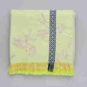 best buy throws Zoe neon fringed throw The Elephant Stamp