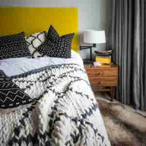 best buy throws chunky knit handmade Beni merino throw Hide and Seek London