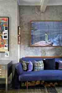 Roomy Home luxe concrete interior Shoot Factory Alice London House