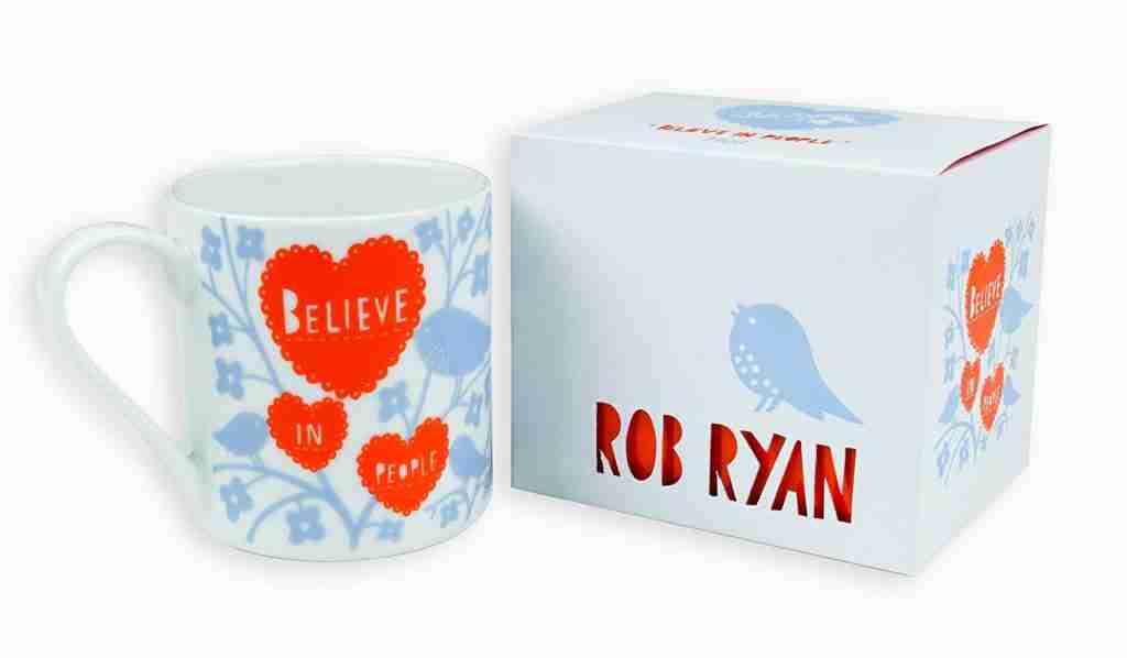 Roomy home interiors with heart amazon rob ryan believe in people mug £18.27