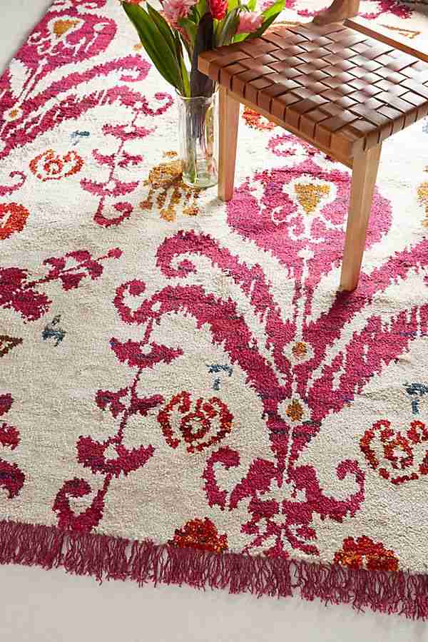 Anthropologie sale Purcella rug spring sale picks Roomy Home homes interiors