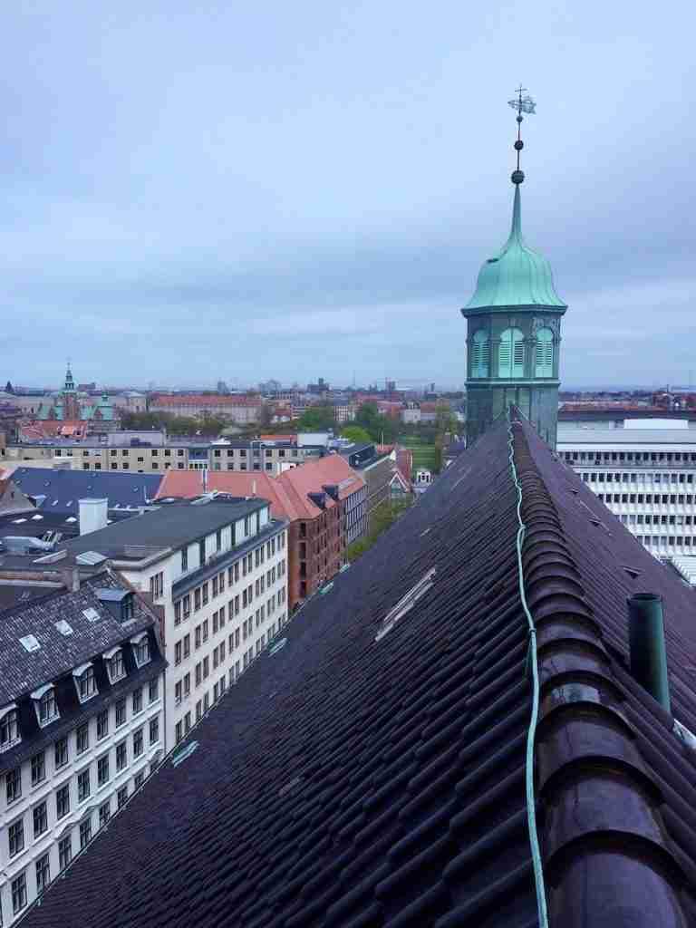 Copenhagen Instatour Roomy Home rooftops Round Tower