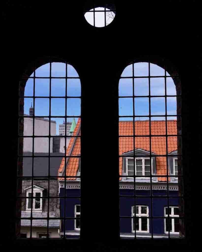 Copenhagen Instatour Roomy Home view window Round Tower